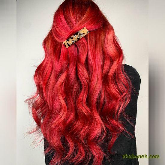 عکس مدل رنگ مو جدید فانتـزی