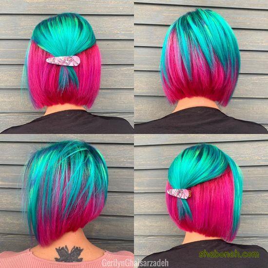 رنگ مو دخترانه سال ۹۹رنگ مو دخترانه سال ۹۹