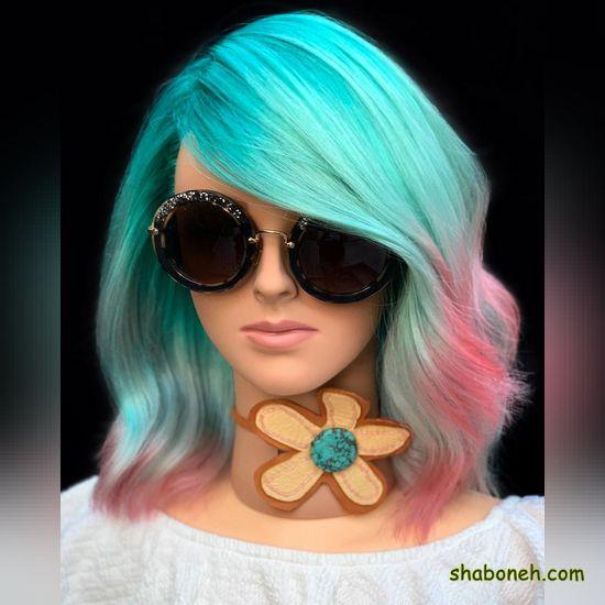 رنگ موی جدید دخترانه فانتـزی
