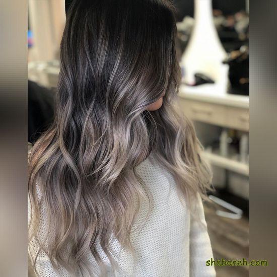 رنگ مو هایلایت زیبا