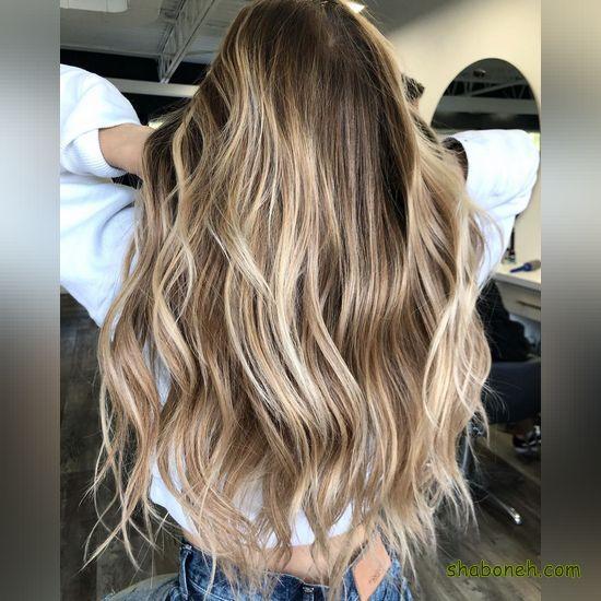 موهای هایلایت زیبا