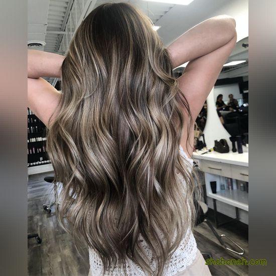 هایلایت مو کوتاه زنانه