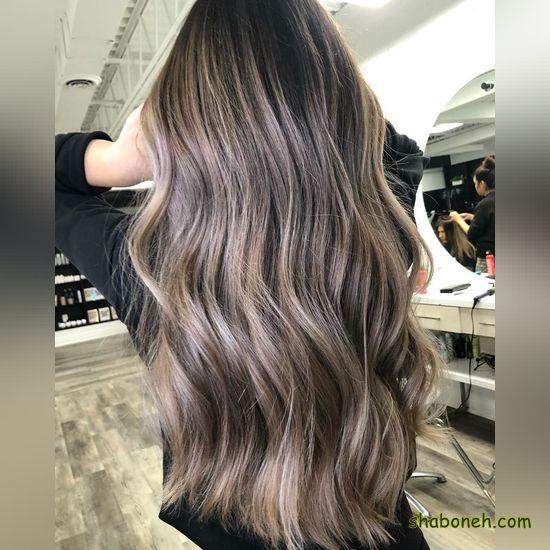 مدل رنگ و مش مو