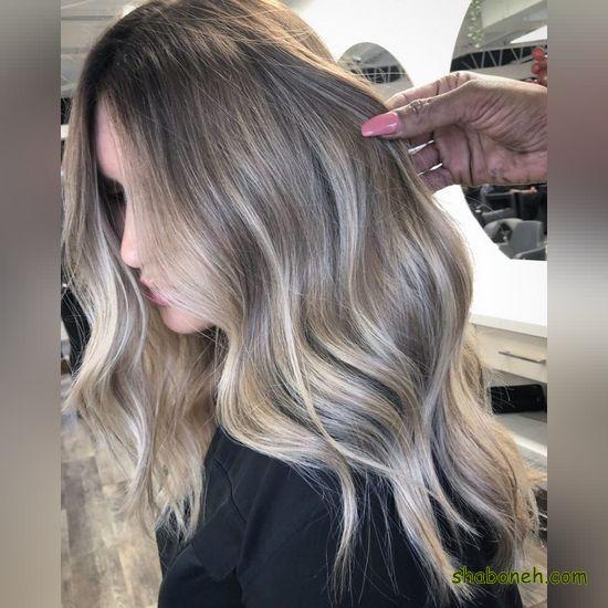 مدل هایلایت مو زنانه جدید