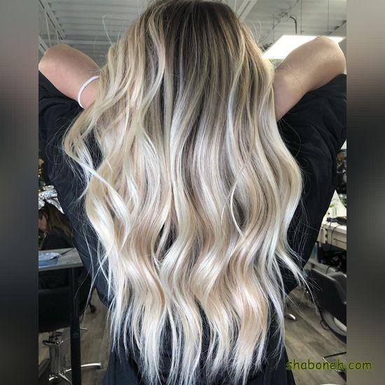رنگ مو زنانه هایلایت