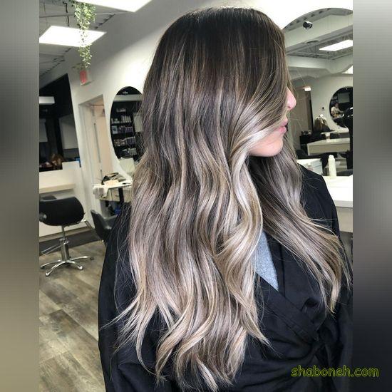 رنگ موی هایلایت زیبا
