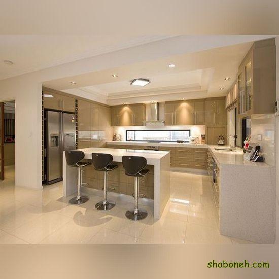مدل کابینت آشپزخانه مدرن سفید