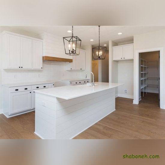 مدلهای کابینت آشپزخانه بدون اپن سفید رنگ