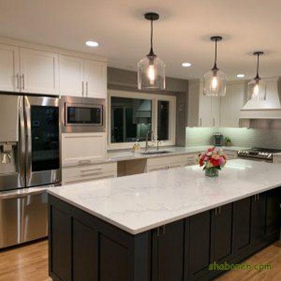 کابینت آشپزخانه 2020 سفید رنگ