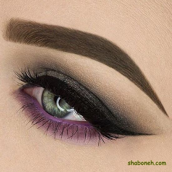 آرایش چشم عروس جدید