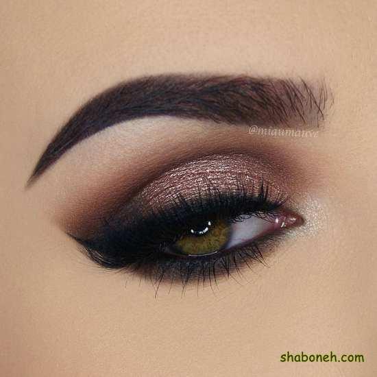 جدیدترین مدل های آرایش چشم