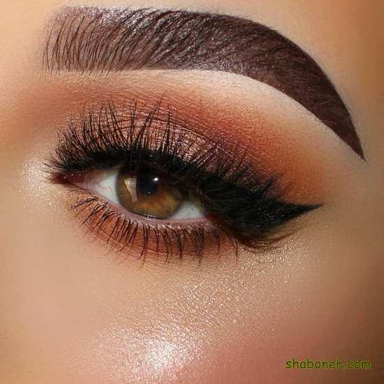 چند مدل سایه چشم زیبا