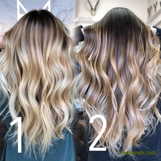 رنگ مو دخترانه قهوه ای