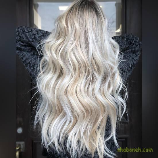 مدل رنگ مو سال جدید ۱۴۰۰
