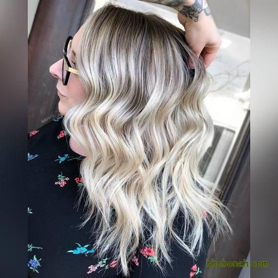 رنگ مو دخترانه تیره