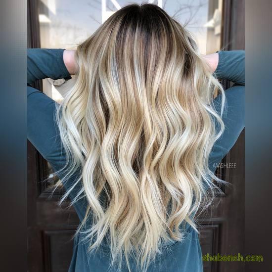 رنگ مو دخترانه روشن