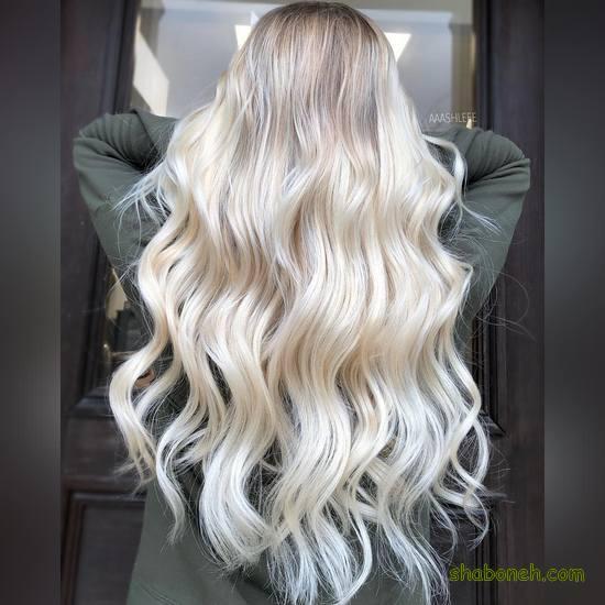 رنگ مو دخترانه جدید