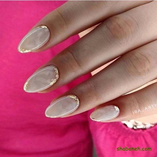 طراحی زیبای ناخن جدید