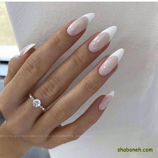 مدل دیزاین ناخن عروس