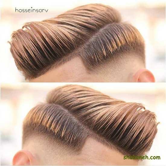 موی ساده و شیک مردانه