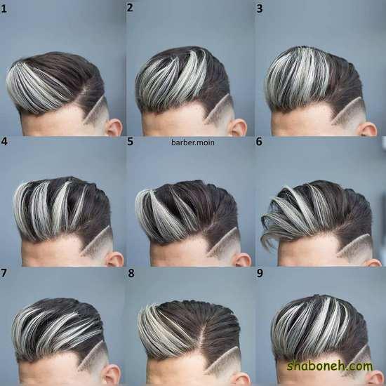 مو مردانه 99 جدید