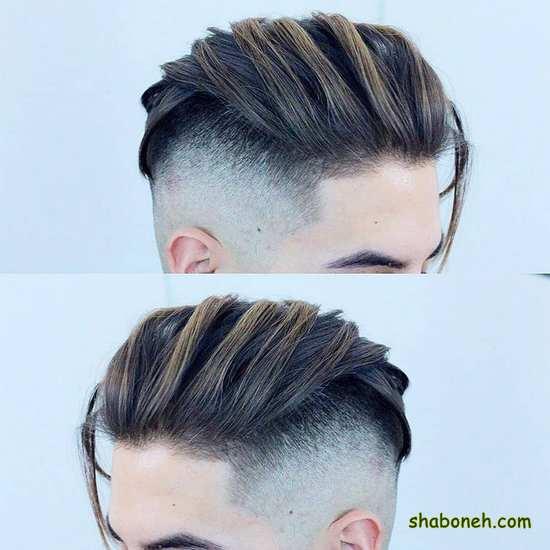عکس موی ساده و شیک مردانه