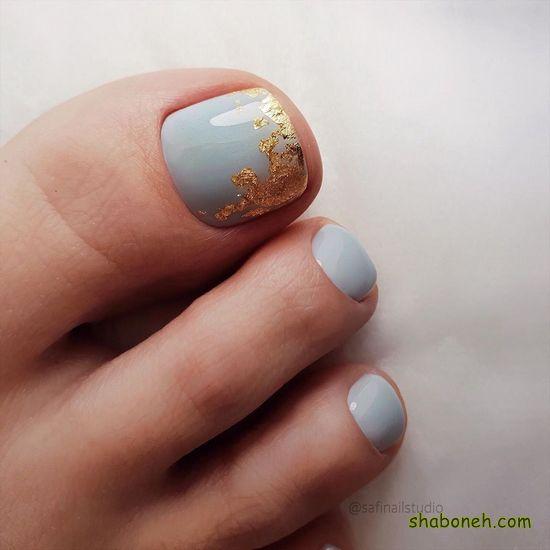 عکس طراحی ناخن جدید دخترانه