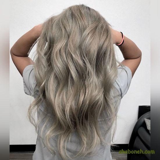 رنگ مو و هایلایت روشن