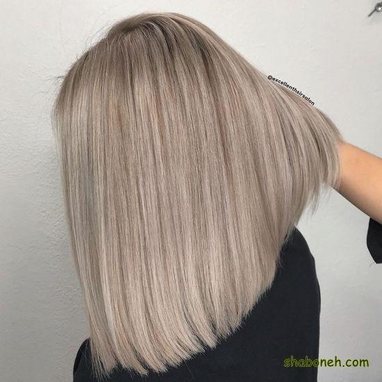 رنگ مو ترکیبی بدون دکلره