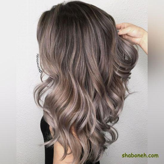 رنگ مو دخترانه ترکیب