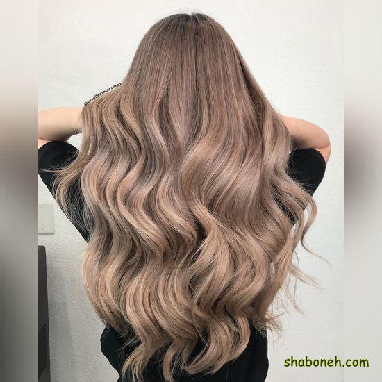 رنگ موی ترکیبی دخترانه