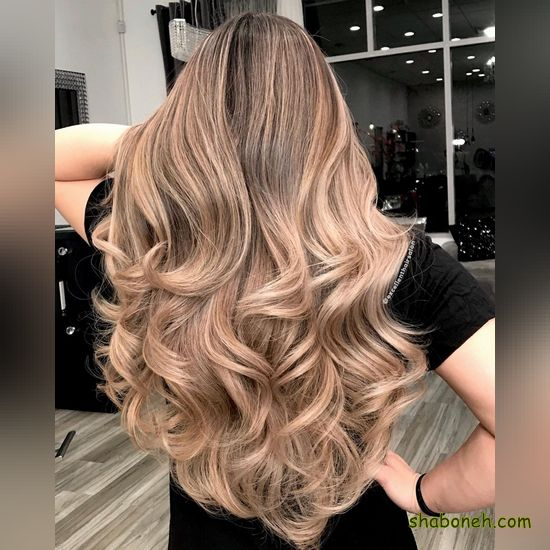 انواع رنگ مو روشن