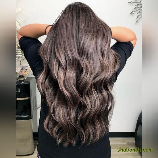 رنگ مو و هایلایت برای پوست سبزه