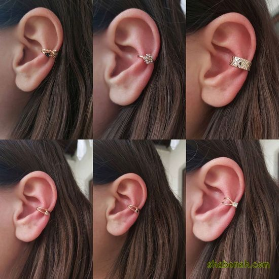 جدیدترین گوشواره های بخیه ای