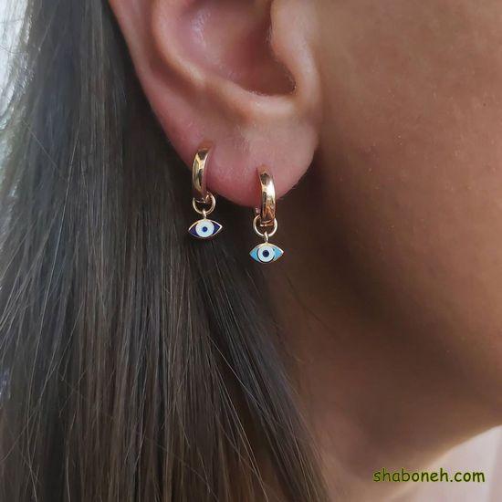 مدل گوشواره زیبا بخیه ای جدید