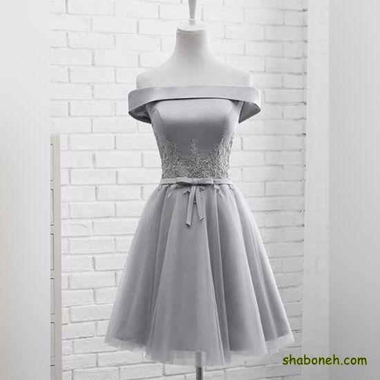 مدل لباس مجلسی کوتاه خاص