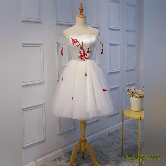 لباس مجلسی کوتاه زنانه شیک و جدید