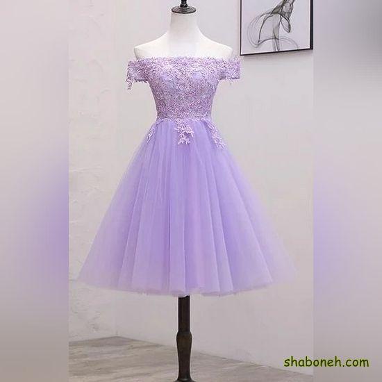 مدل لباس مجلسی کوتاه دخترانه خاص