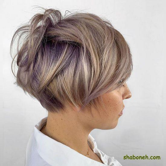 رنگ موی جدید ۲۰۲۰ کوتاه