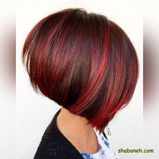 رنگ موی جدید دخترانه کوتاه
