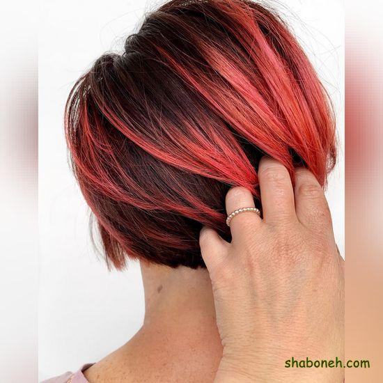 مدل جدید رنگ مو بدون دکلره