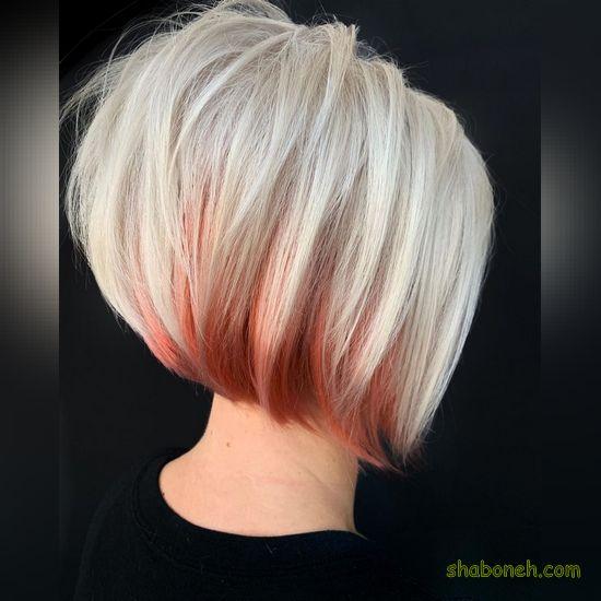 رنگ مو ترکیبرنگ مو ترکیبی بدون دکلره کوتاهی بدون دکلره کوتاه