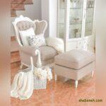 مدل دکور منزل سفید رنگ با طرح ها و دکوراسیون بسیار جذاب وسایل
