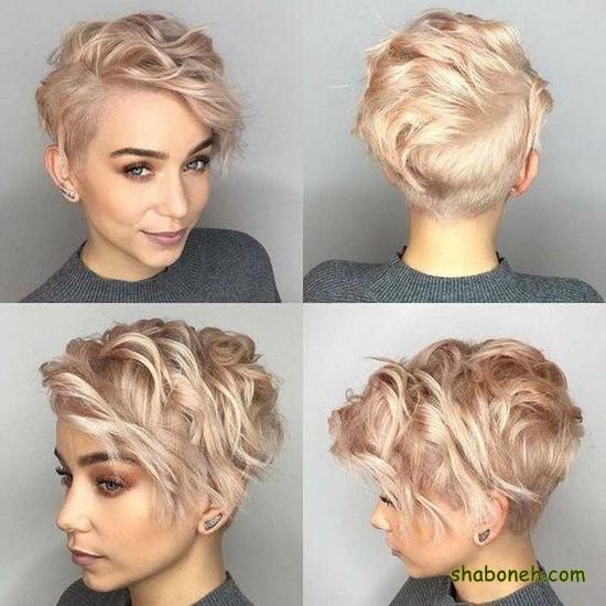 مدل مو کوتاه زنانه جدید 2020