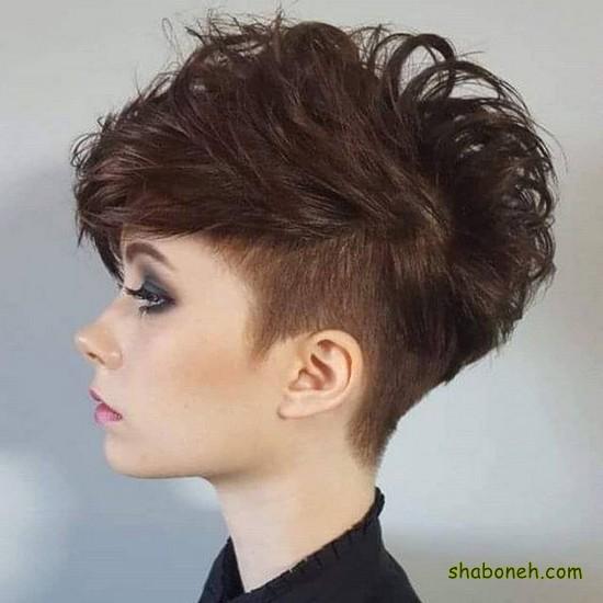 موی کوتاه زیبای دخترانه