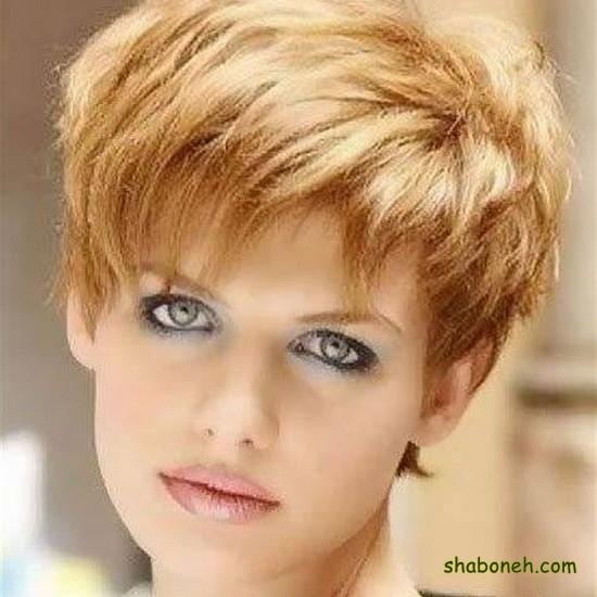 مدل مو کوتاه دخترانه مجلسی