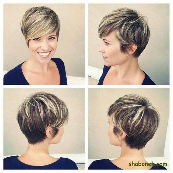 موهای کوتاه دخترانه زیبا