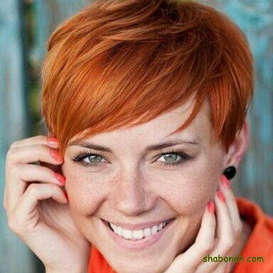 مدل مو کوتاه دخترانه ساده