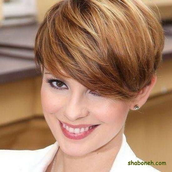 موی کوتاه دخترانه زیبا