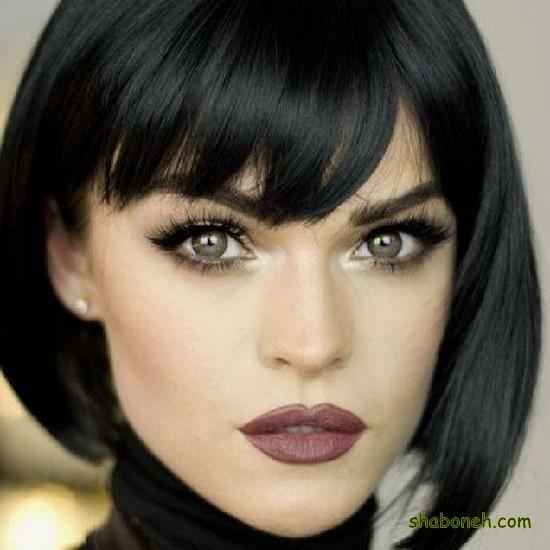 مدل موی کوتاه دخترانه مجلسی